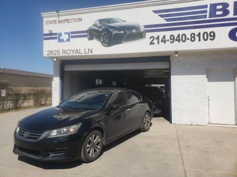 2013 Honda Accord for sale at Best Royal Car Sales in Dallas TX