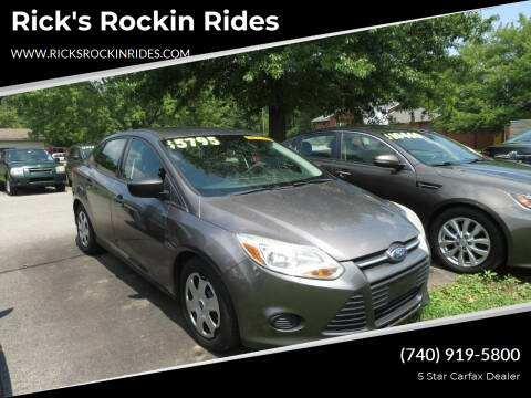 2012 Ford Focus for sale at Rick's Rockin Rides in Reynoldsburg OH