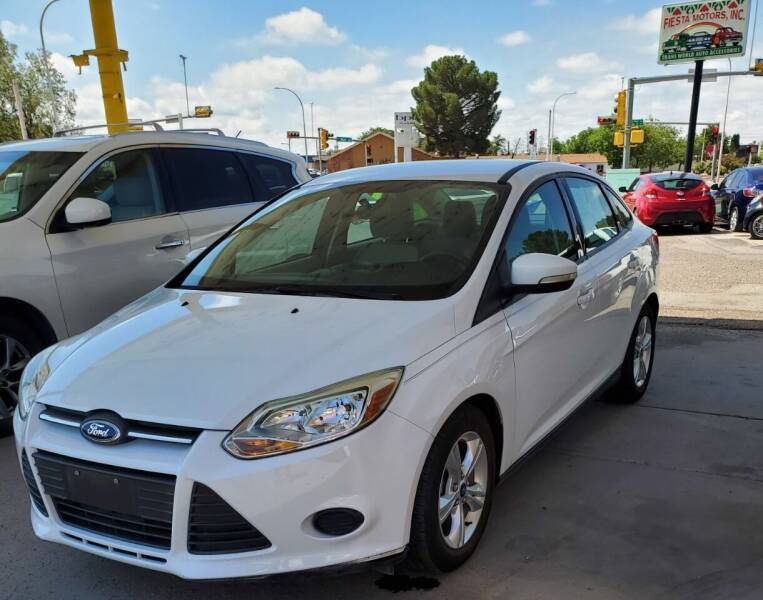 2014 Ford Focus for sale at Fiesta Motors Inc in Las Cruces NM