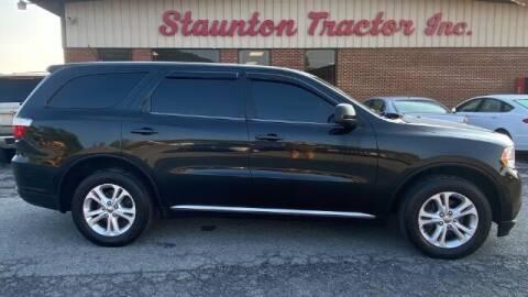 2013 Dodge Durango for sale at STAUNTON TRACTOR INC in Staunton VA