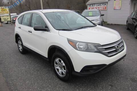 2013 Honda CR-V for sale at K & R Auto Sales,Inc in Quakertown PA