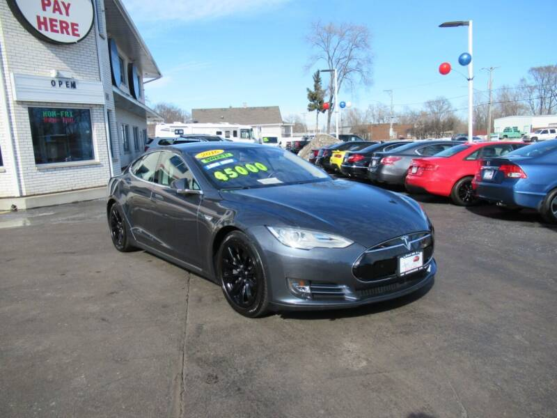 2016 Tesla Model S for sale at Auto Land Inc in Crest Hill IL
