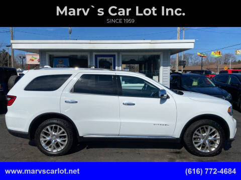2015 Dodge Durango for sale at Marv`s Car Lot Inc. in Zeeland MI