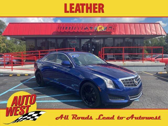 2014 Cadillac ATS for sale at Autowest of GR in Grand Rapids MI