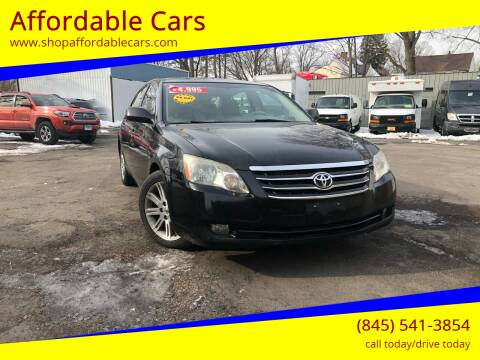 2005 Toyota Avalon for sale at Affordable Cars in Kingston NY
