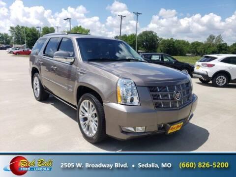 2014 Cadillac Escalade for sale at RICK BALL FORD in Sedalia MO