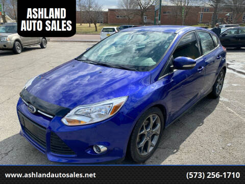 2014 Ford Focus for sale at ASHLAND AUTO SALES in Columbia MO
