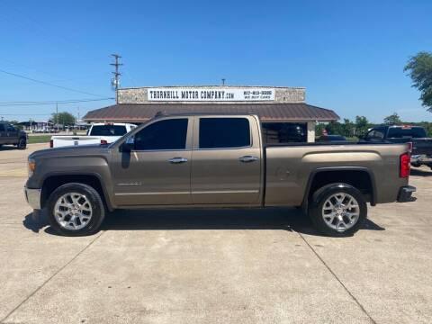 2015 GMC Sierra 1500 for sale at Thornhill Motor Company in Hudson Oaks, TX