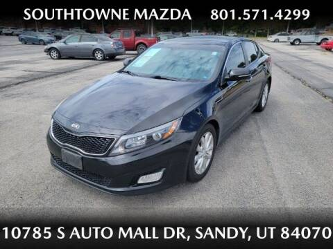 2015 Kia Optima for sale at Southtowne Mazda of Sandy in Sandy UT