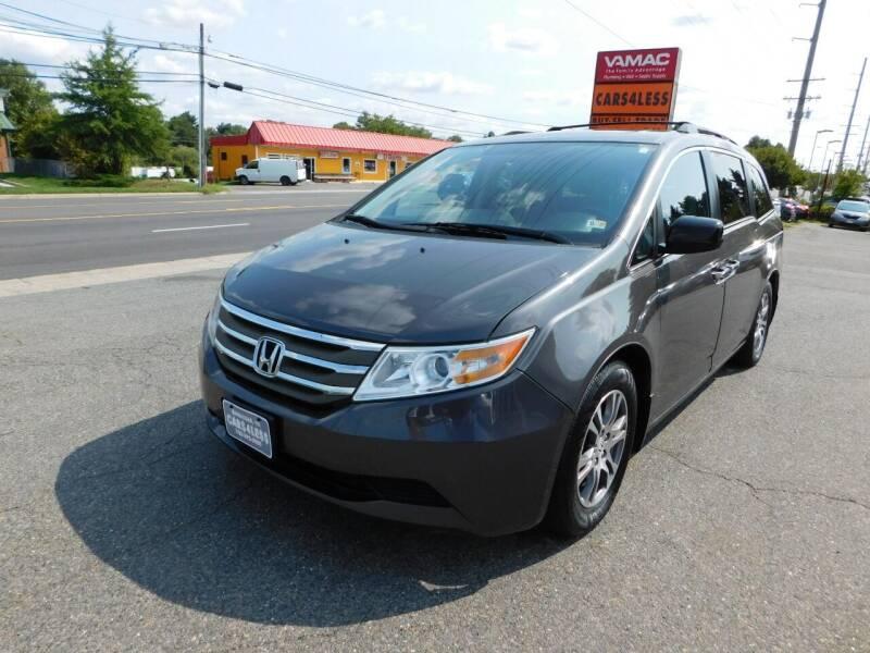 2013 Honda Odyssey for sale at Cars 4 Less in Manassas VA