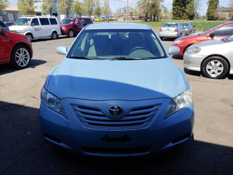 2007 Toyota Camry for sale at M AND S CAR SALES LLC in Independence OR