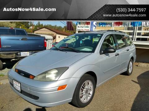 2003 Ford Focus for sale at AUCTION SERVICES OF CALIFORNIA in El Dorado CA