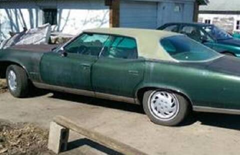 1974 Pontiac Bonneville for sale at Haggle Me Classics in Hobart IN