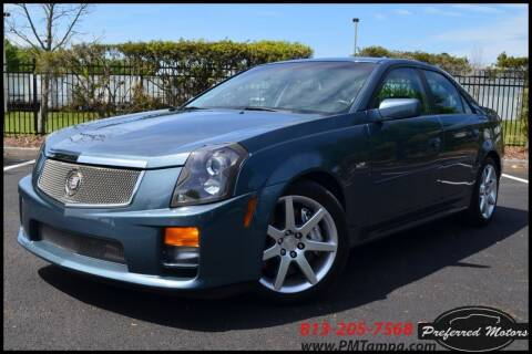 2005 Cadillac CTS-V for sale at PREFERRED MOTORS in Tampa FL