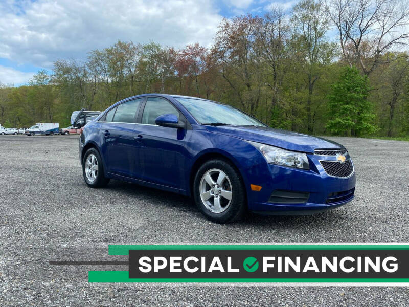2013 Chevrolet Cruze for sale at QUALITY AUTOS in Newfoundland NJ