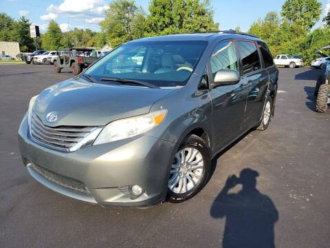 2011 Toyota Sienna for sale at Cruisin' Auto Sales in Madison IN