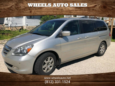 2007 Honda Odyssey for sale at Wheels Auto Sales in Bloomington IN