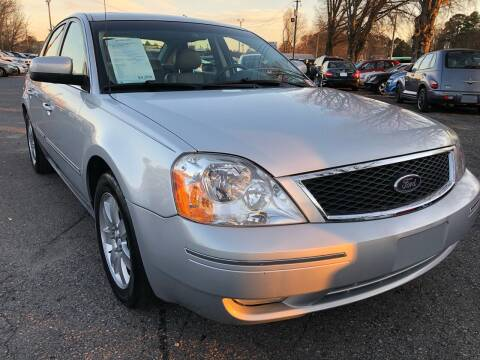 2005 Ford Five Hundred for sale at Atlantic Auto Sales in Garner NC