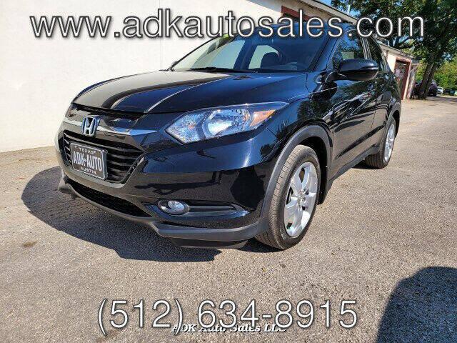 2016 Honda HR-V for sale at ADK AUTO SALES LLC in Austin TX