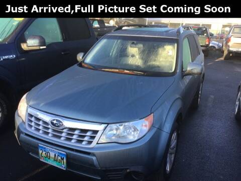 2011 Subaru Forester for sale at Royal Moore Custom Finance in Hillsboro OR