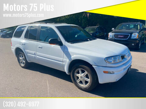 2003 Oldsmobile Bravada for sale at Motors 75 Plus in Saint Cloud MN