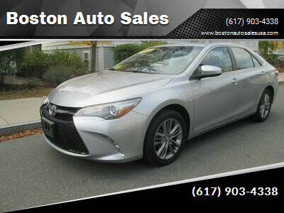 2017 Toyota Camry for sale at Boston Auto Sales in Brighton MA