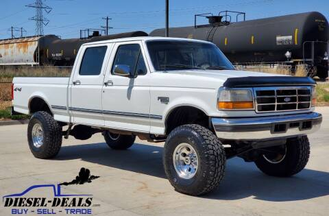 1997 Ford F-250 for sale at DIESEL DEALS in Salt Lake City UT