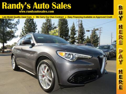 2019 Alfa Romeo Stelvio for sale at Randy's Auto Sales in Ontario CA