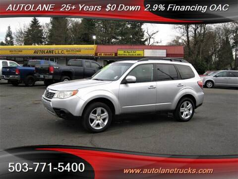 2010 Subaru Forester for sale at Auto Lane in Portland OR