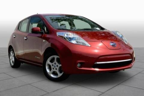 2011 Nissan LEAF for sale at CU Carfinders in Norcross GA