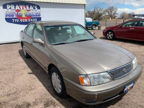 1998 Toyota Avalon for sale at Praylea's Auto Sales in Peyton CO