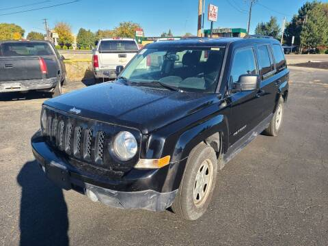 2017 Jeep Patriot for sale at Silverline Auto Boise in Meridian ID