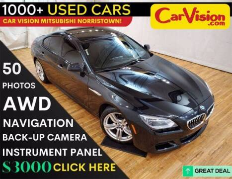 2015 BMW 6 Series for sale at Car Vision Buying Center in Norristown PA