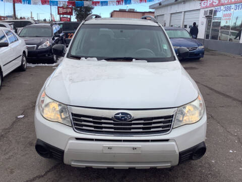 2010 Subaru Forester for sale at GPS Motors in Denver CO