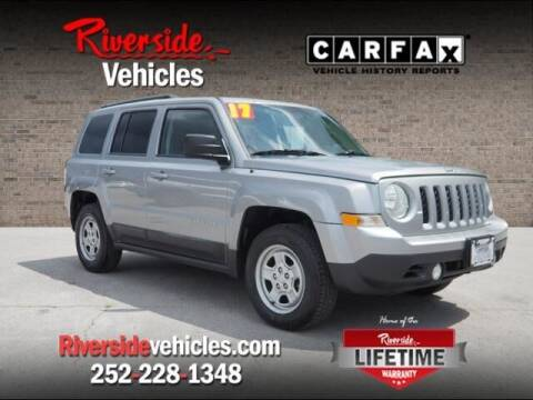 2017 Jeep Patriot for sale at Riverside Mitsubishi(New Bern Auto Mart) in New Bern NC
