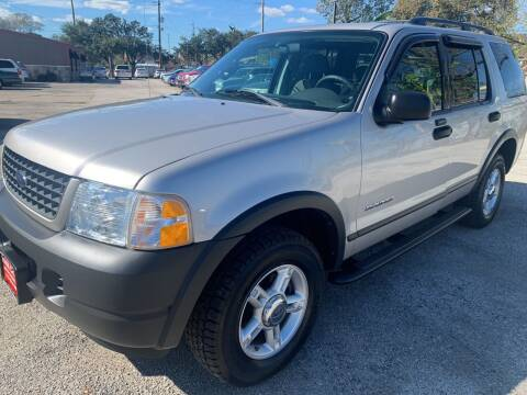 2004 Ford Explorer for sale at FAIR DEAL AUTO SALES INC in Houston TX
