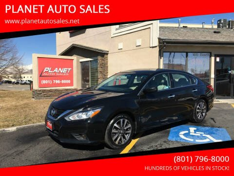 2017 Nissan Altima for sale at PLANET AUTO SALES in Lindon UT