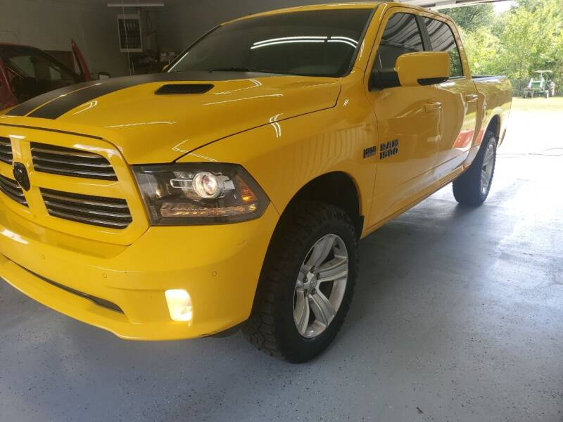 2016 RAM Ram Pickup 1500 for sale at Bailey Family Auto Sales in Lincoln AR