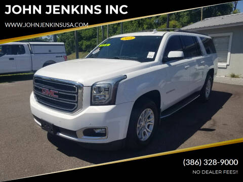 2018 GMC Yukon XL for sale at JOHN JENKINS INC in Palatka FL