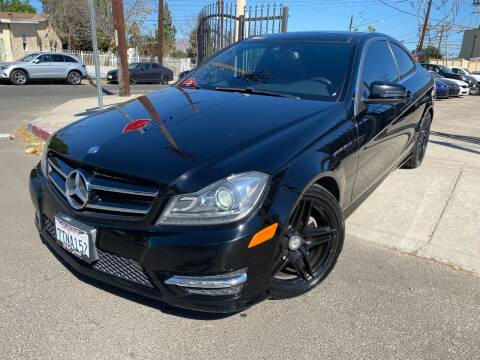 2015 Mercedes-Benz C-Class for sale at West Coast Motor Sports in North Hollywood CA