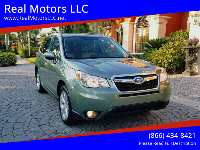 2015 Subaru Forester for sale at Real Motors LLC in Clearwater FL