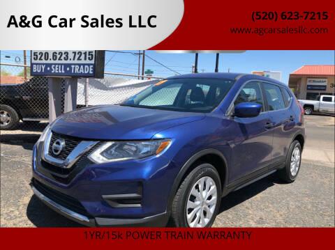 2017 Nissan Rogue for sale at A&G Car Sales  LLC in Tucson AZ