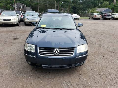2004 Volkswagen Passat for sale at 1st Priority Autos in Middleborough MA