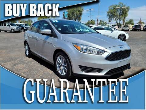 2017 Ford Focus for sale at Reliable Auto Sales in Las Vegas NV