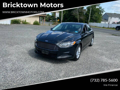 2013 Ford Fusion for sale at Bricktown Motors in Brick NJ