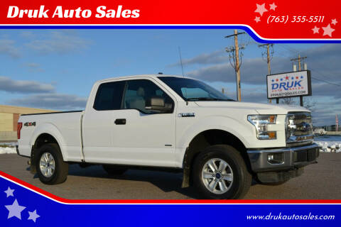 2016 Ford F-150 for sale at Druk Auto Sales in Ramsey MN