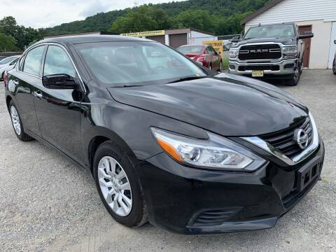 2017 Nissan Altima for sale at Ron Motor Inc. in Wantage NJ
