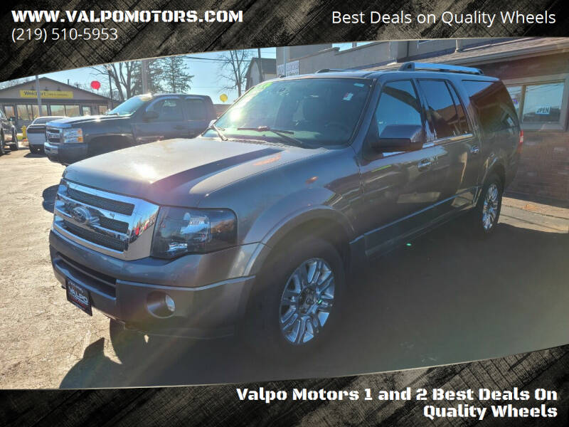 2012 Ford Expedition EL for sale at Valpo Motors Inc. in Valparaiso IN