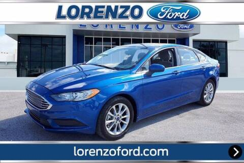 2017 Ford Fusion for sale at Lorenzo Ford in Homestead FL