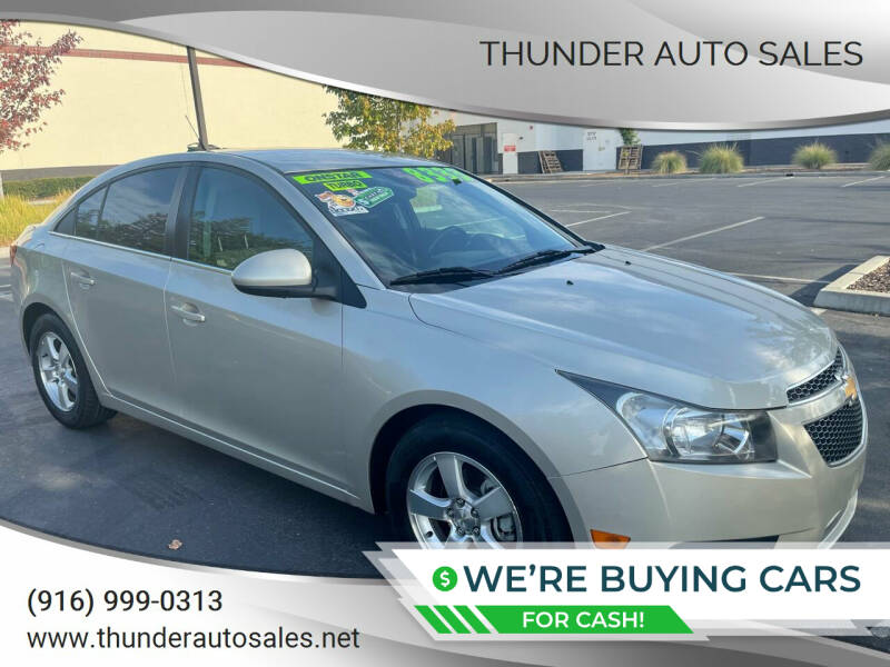 2014 Chevrolet Cruze for sale at Thunder Auto Sales in Sacramento CA
